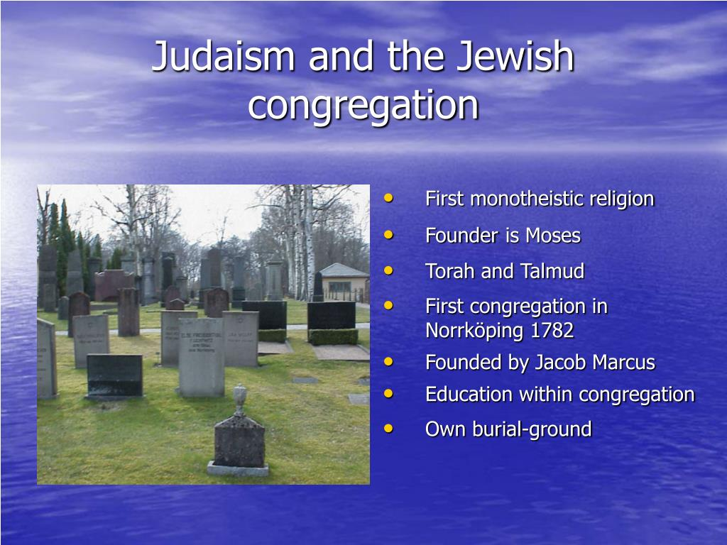 Judaism and the Jewish congregation