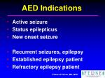 aed indications