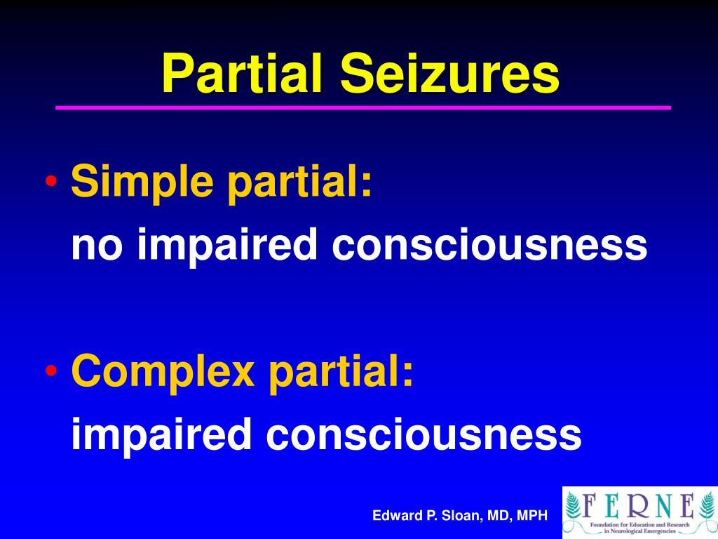 Partial Seizures
