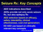 seizure rx key concepts24