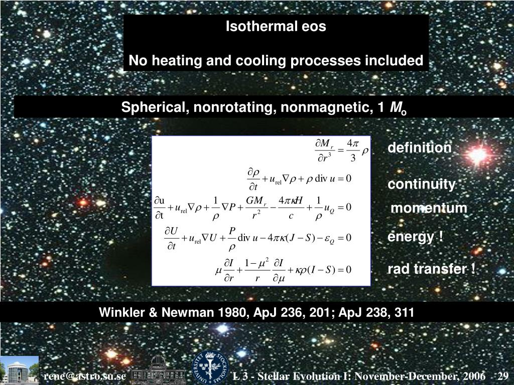 Isothermal eos