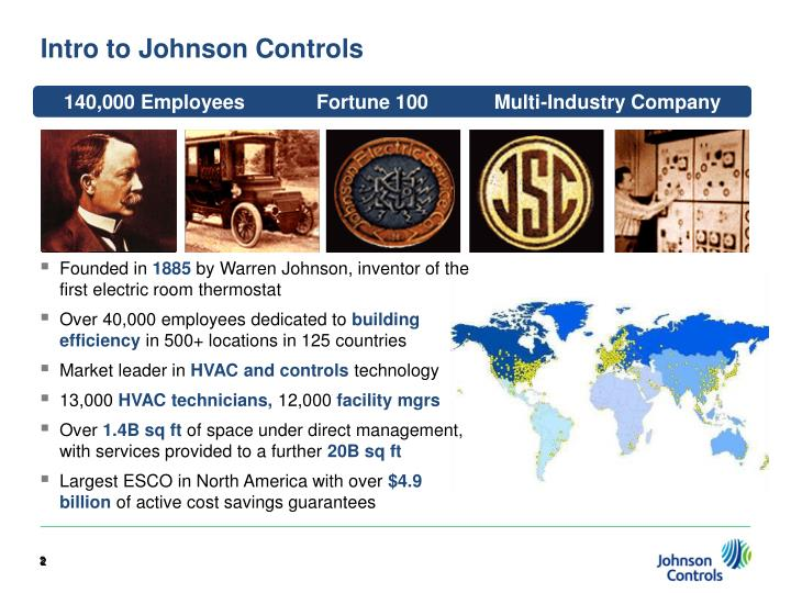 Intro to johnson controls