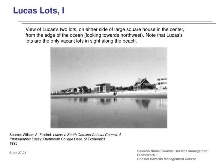 Lucas Lots, I