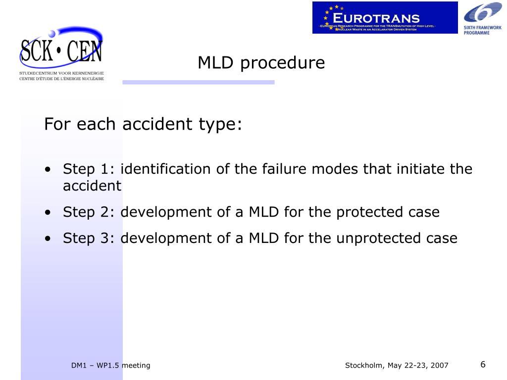 MLD procedure