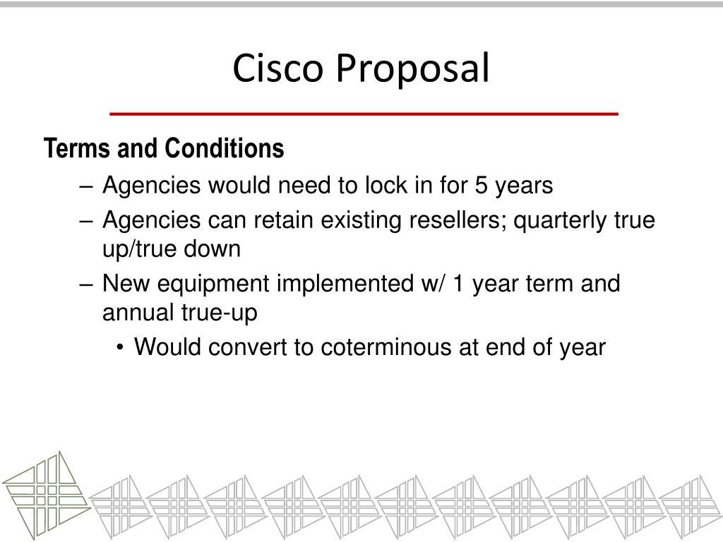 Cisco Proposal