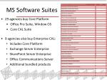 ms software suites