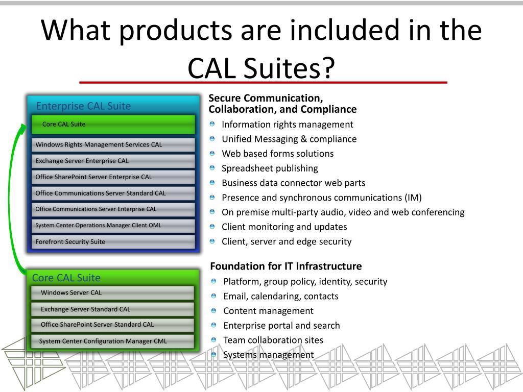 Enterprise CAL Suite