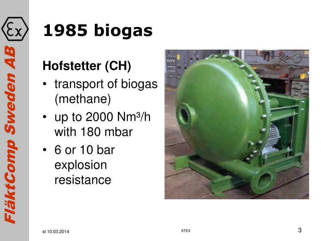 1985 biogas