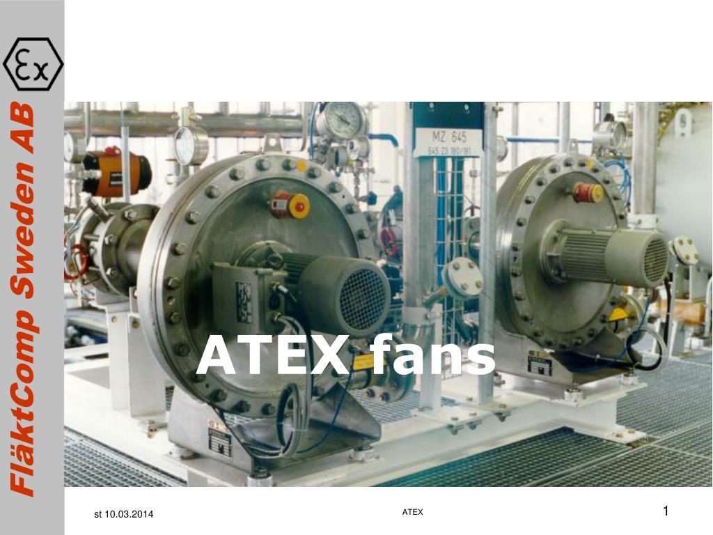 ATEX fans