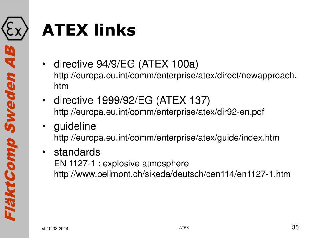 ATEX links