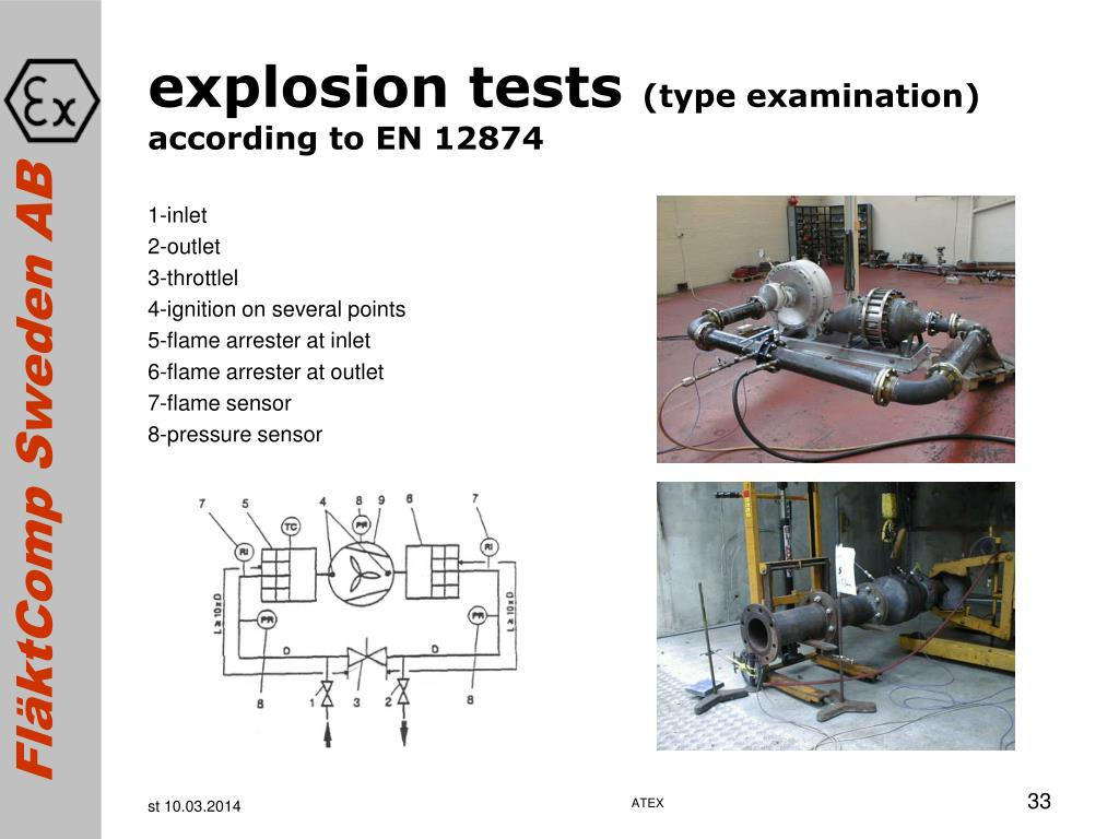 explosion tests