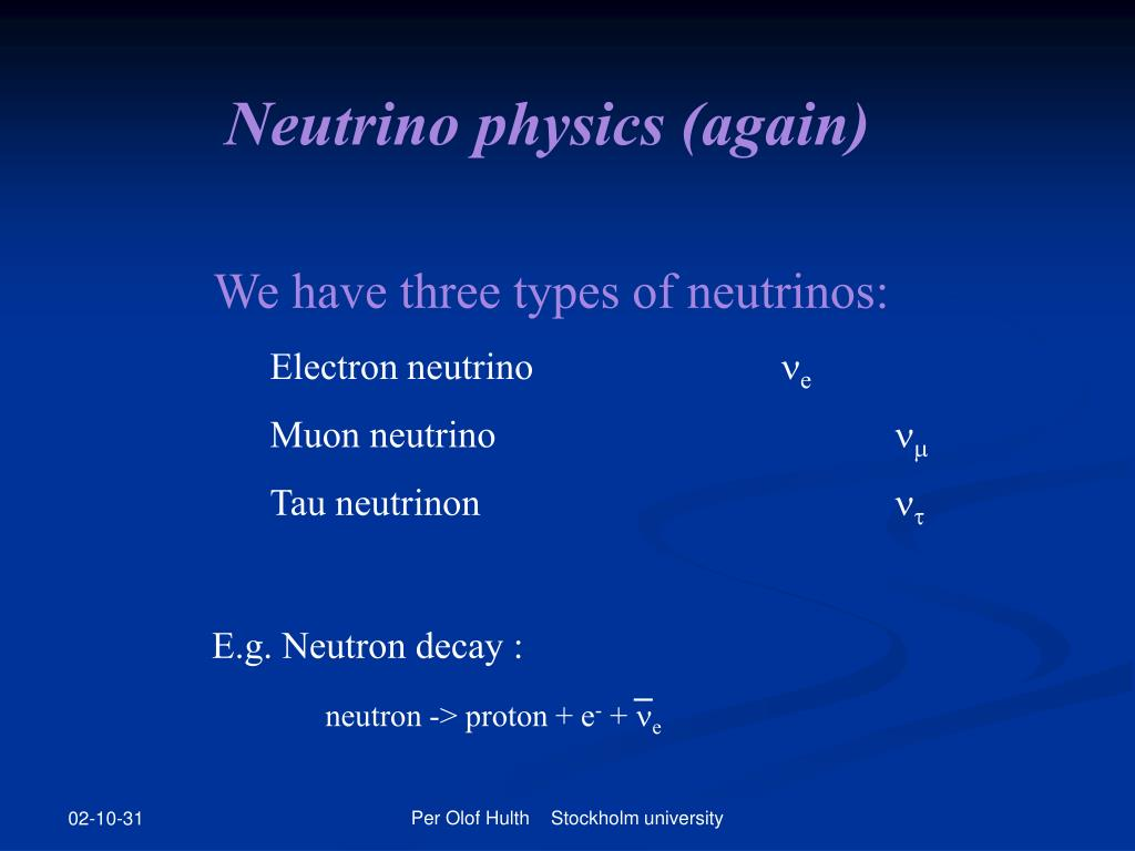 Neutrino physics (again)