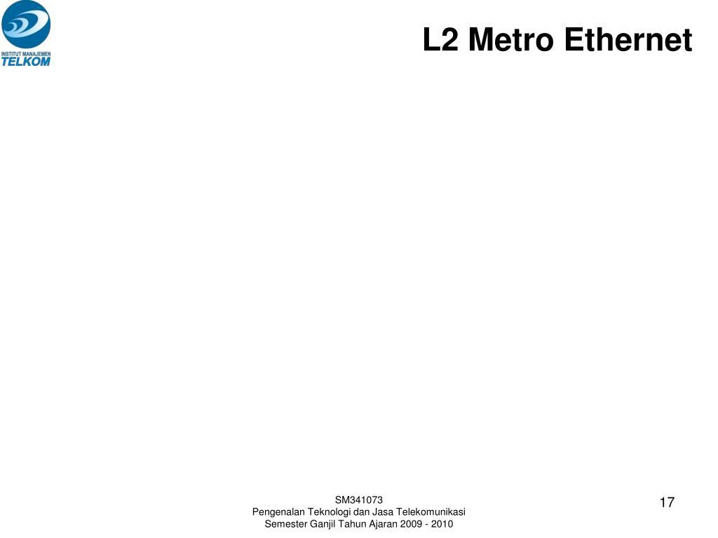 L2 Metro Ethernet