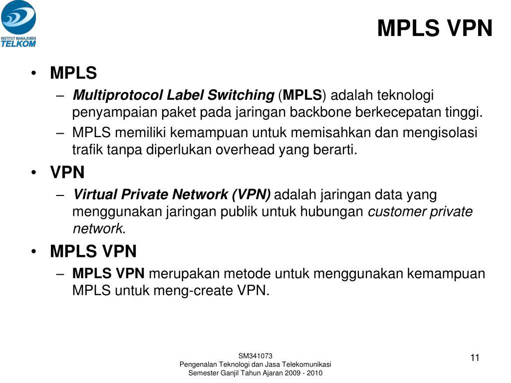 MPLS VPN