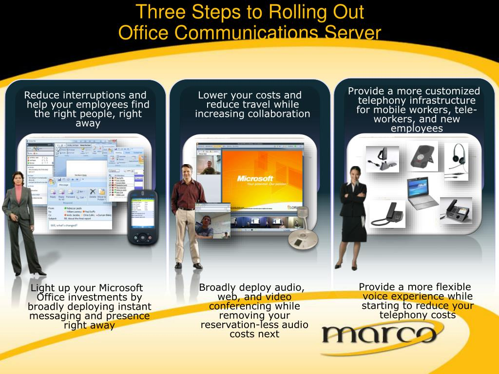 Three Steps to Rolling Out