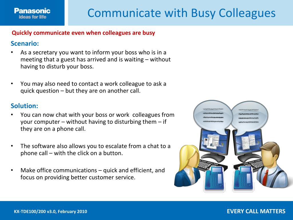 Communicate with Busy Colleagues