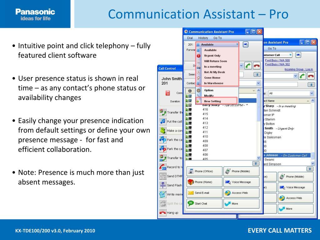 Communication Assistant – Pro