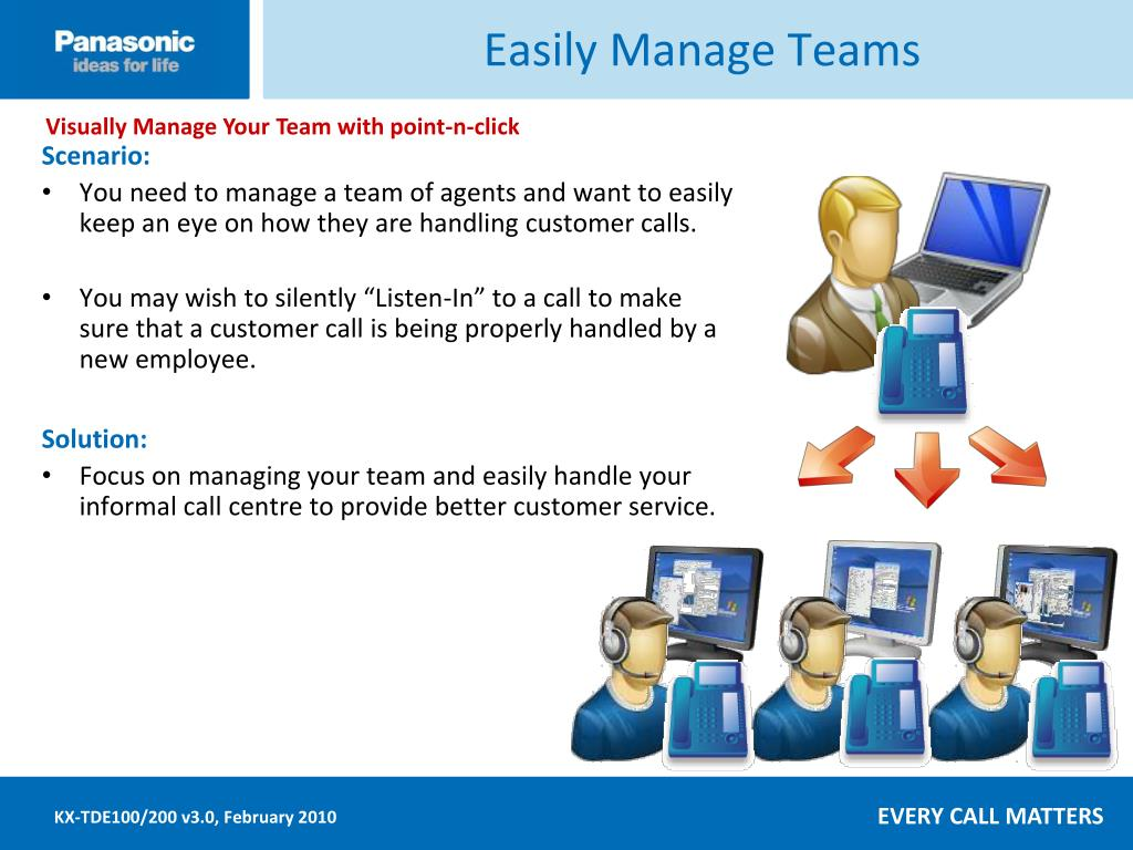 Easily Manage Teams
