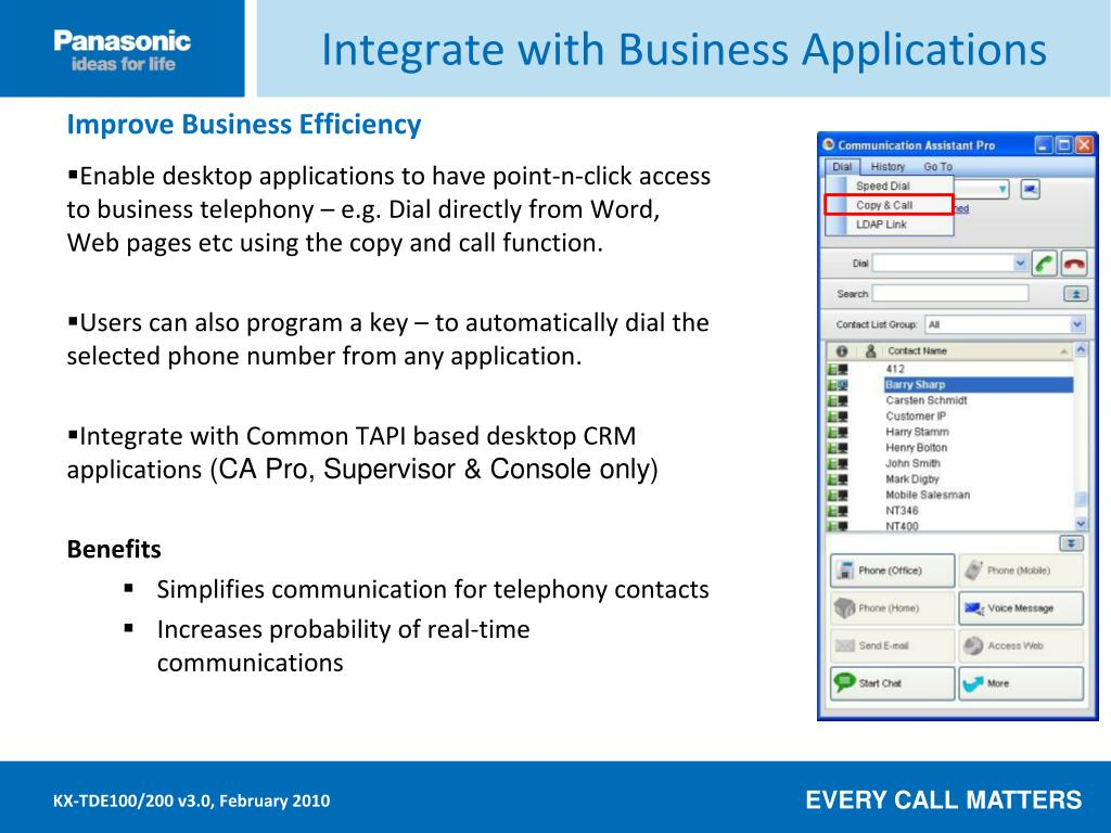Integrate with Business Applications