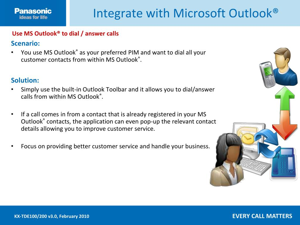 Integrate with Microsoft Outlook®