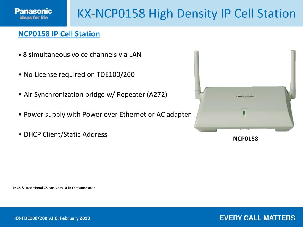 KX-NCP0158 High Density IP Cell Station