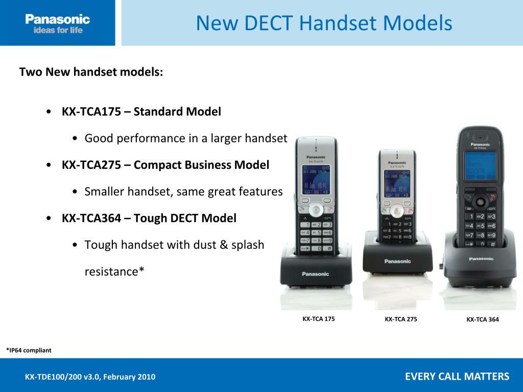 New DECT Handset Models