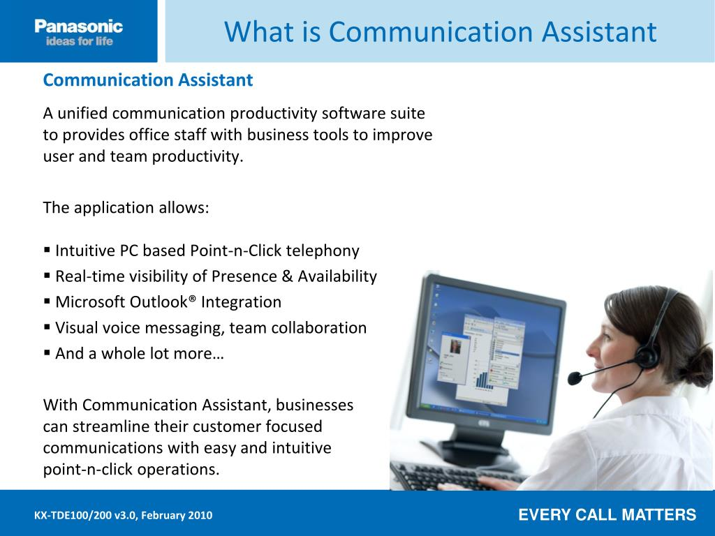 What is Communication Assistant
