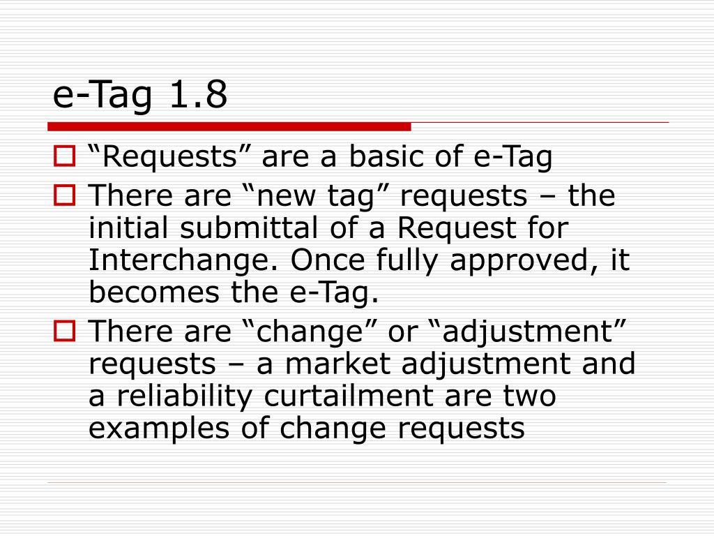 e-Tag 1.8