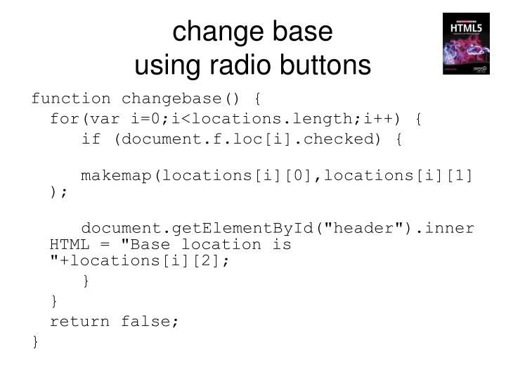 change base