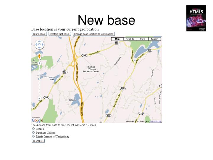 New base