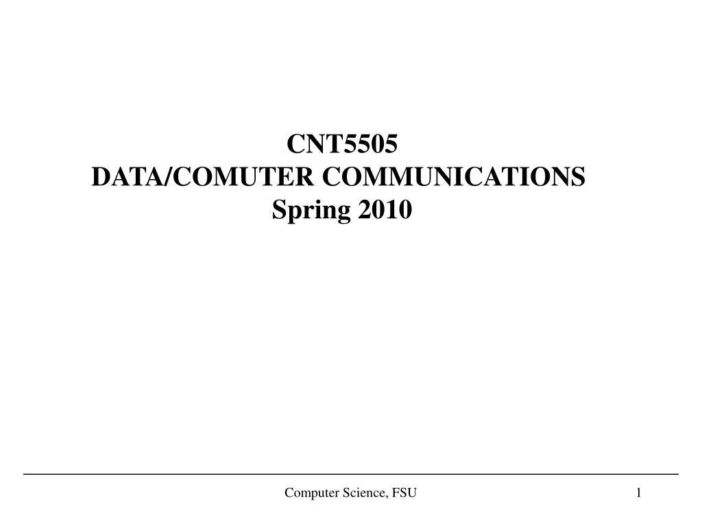 CNT5505