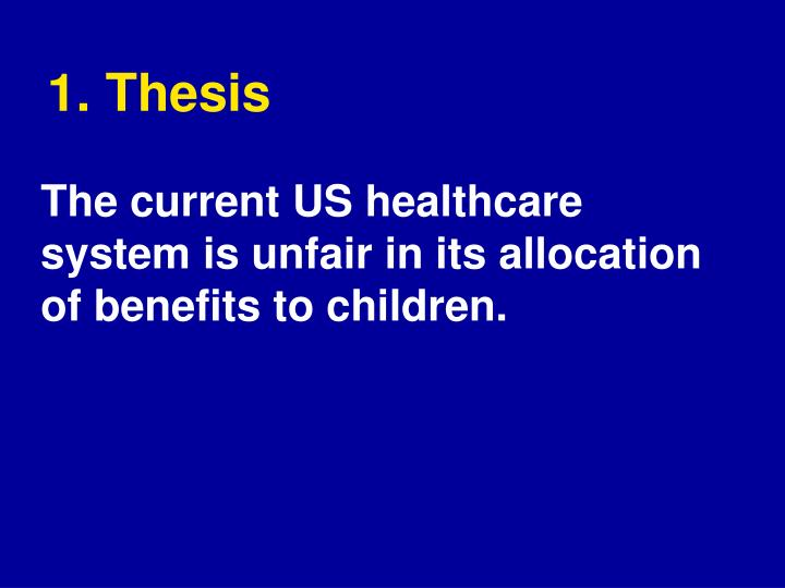 1. Thesis