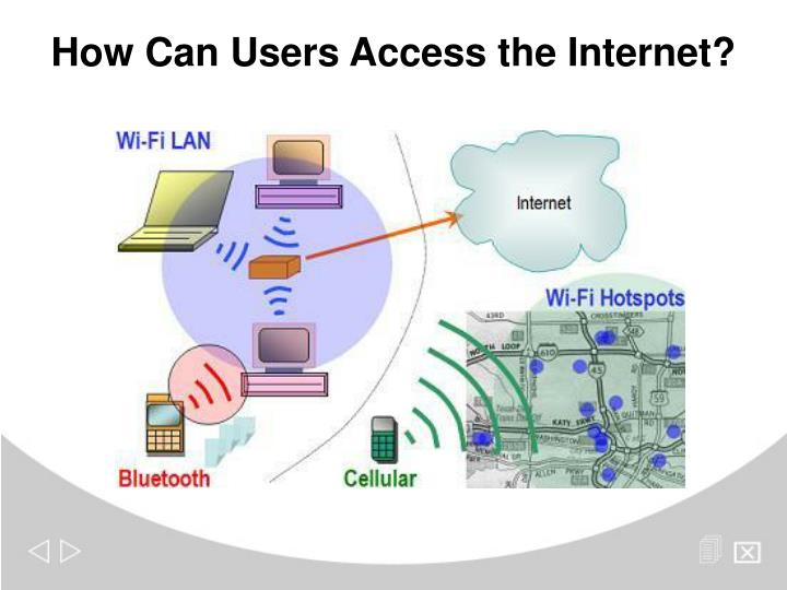 How Can Users Access the Internet?