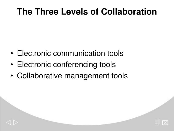 Electronic communication tools
