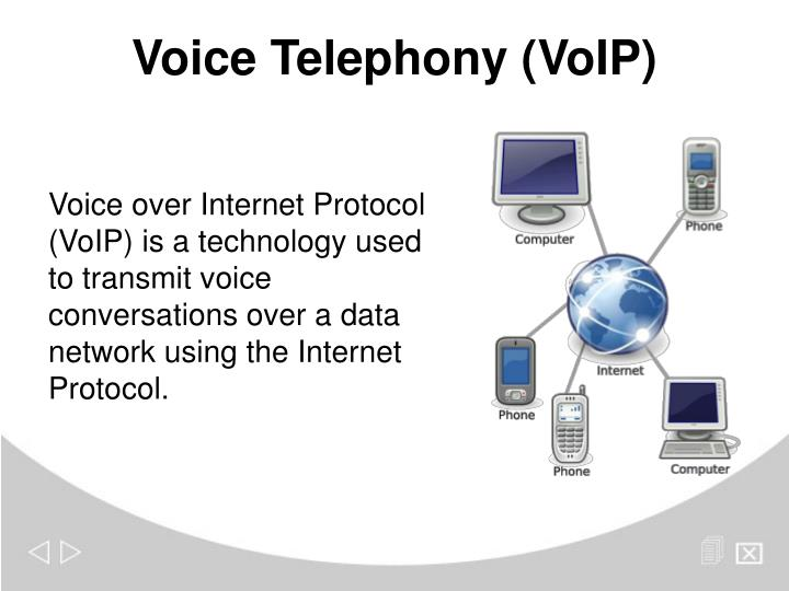Voice Telephony (VoIP)