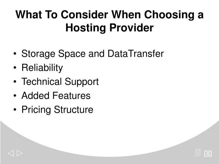 Storage Space and DataTransfer