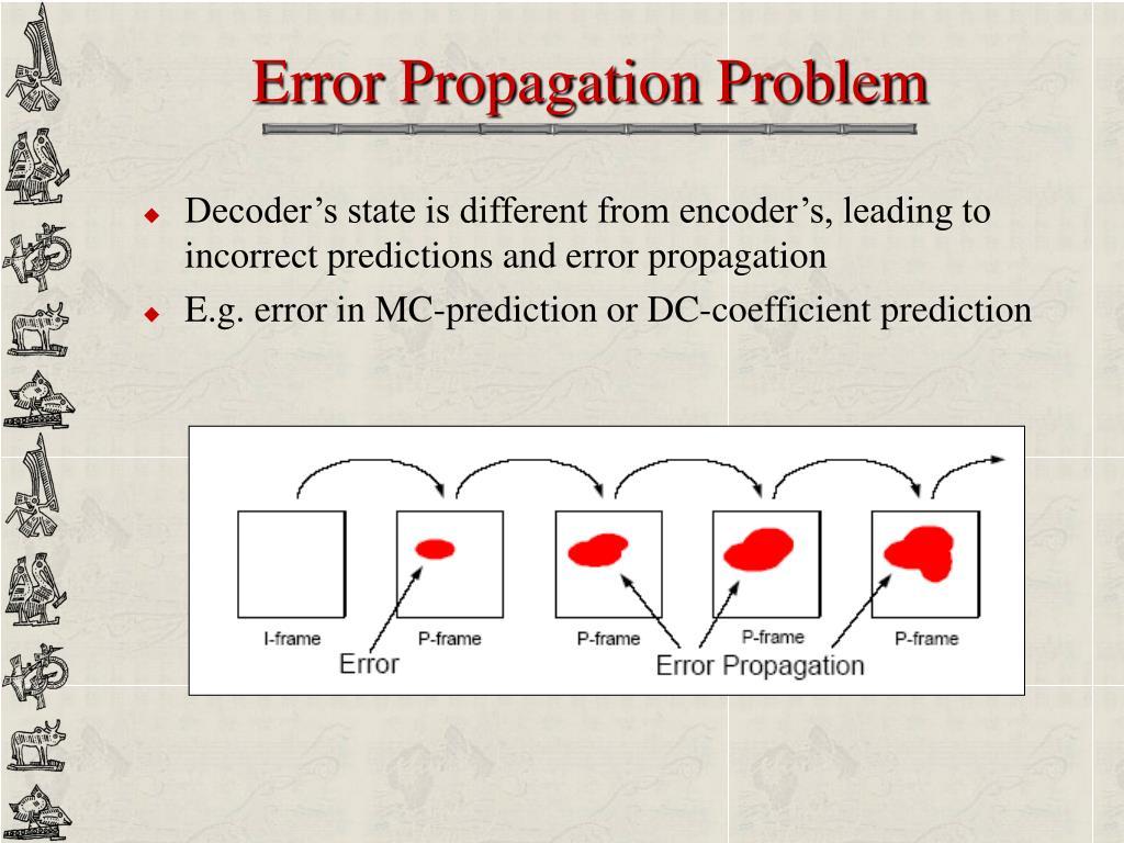 Error Propagation Problem