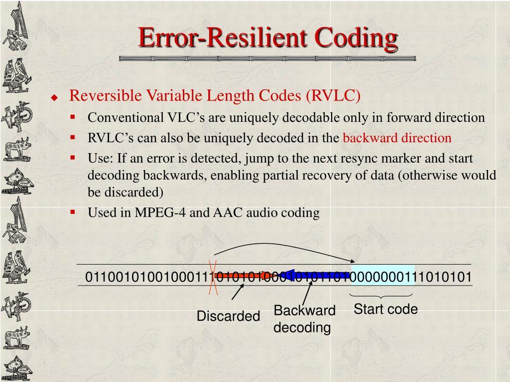 Error-Resilient Coding