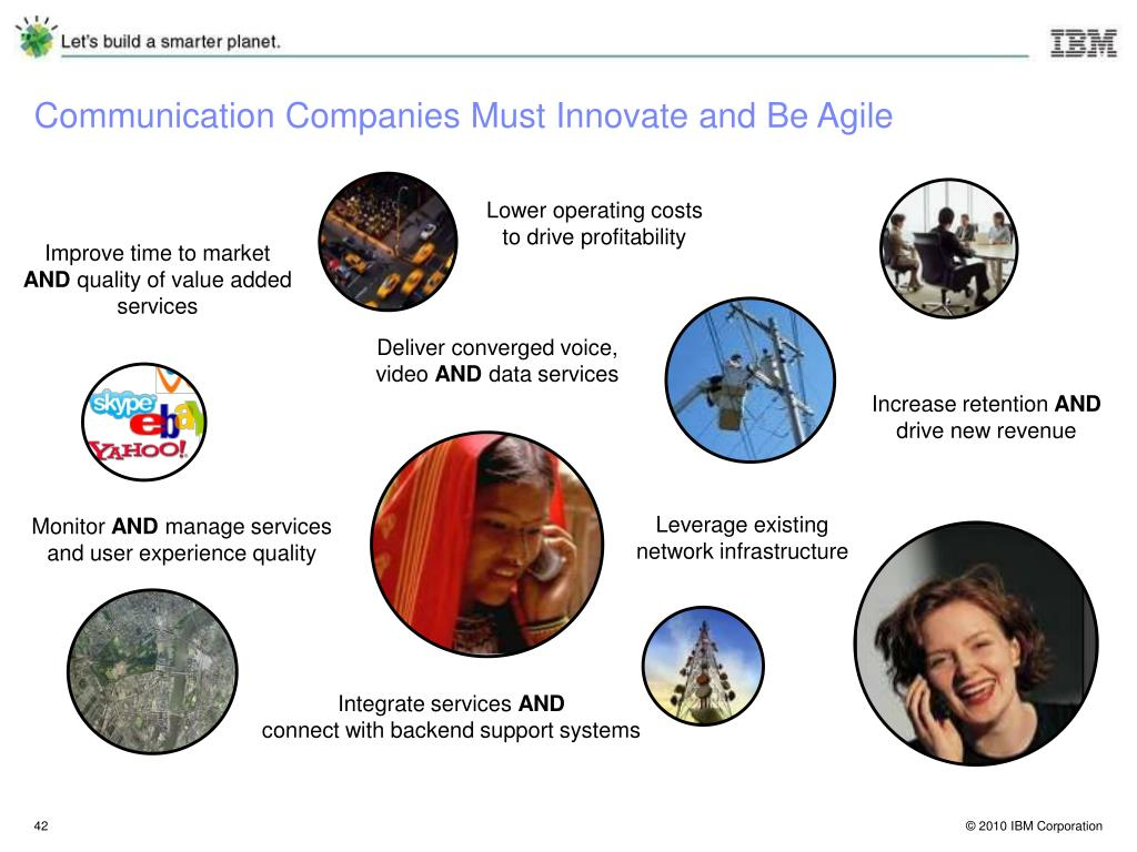 Communication Companies Must Innovate and Be Agile