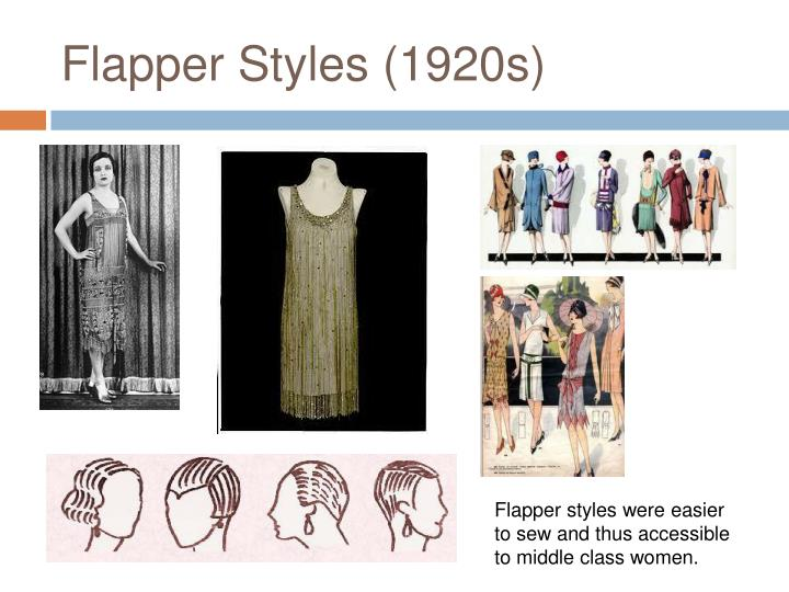 Flapper Styles (1920s)