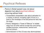 psychical reflexes