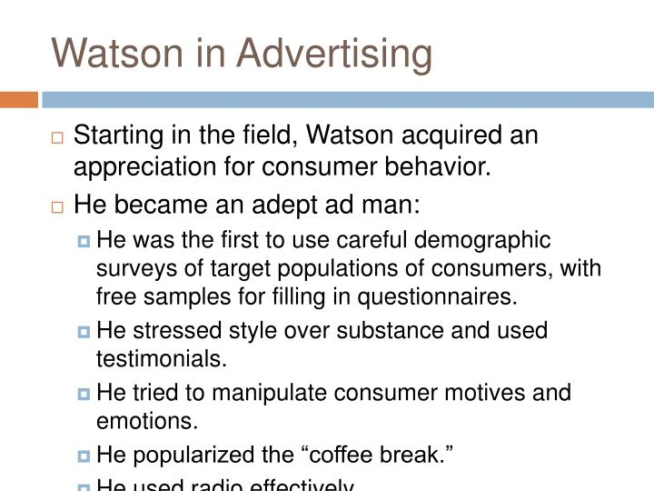 Watson in Advertising
