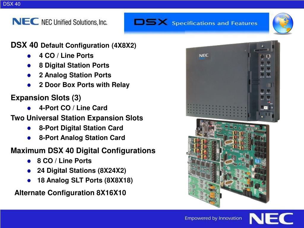 DSX 40