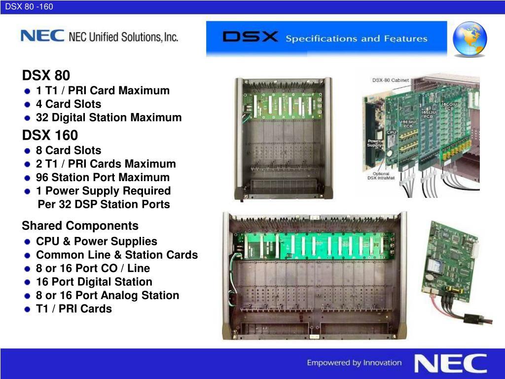 DSX 80 -160