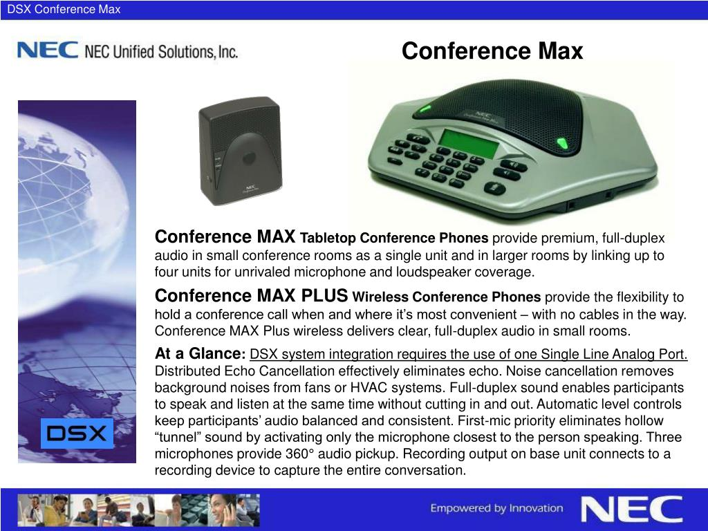 DSX Conference Max