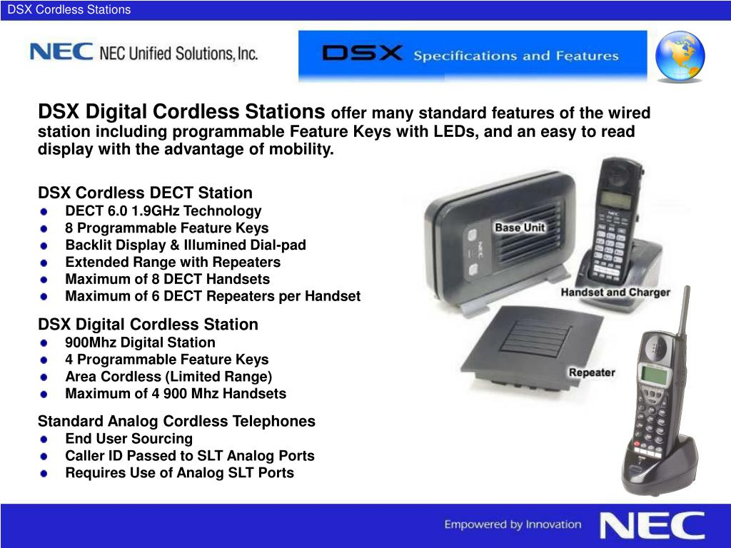 DSX Cordless Stations