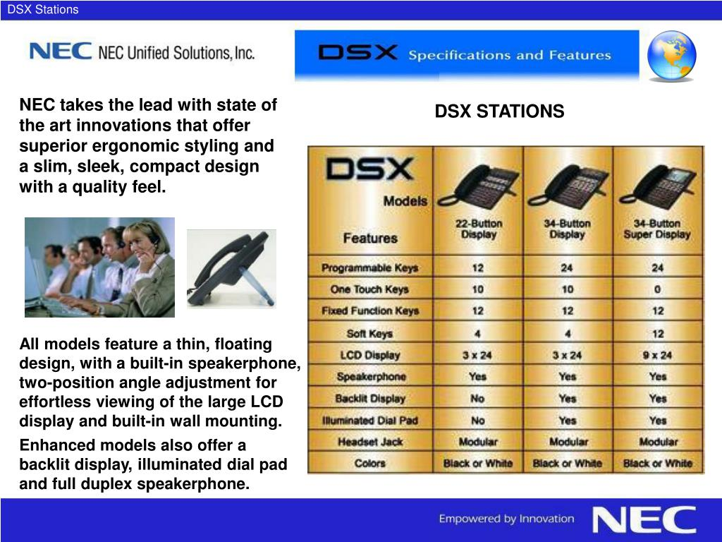 DSX Stations
