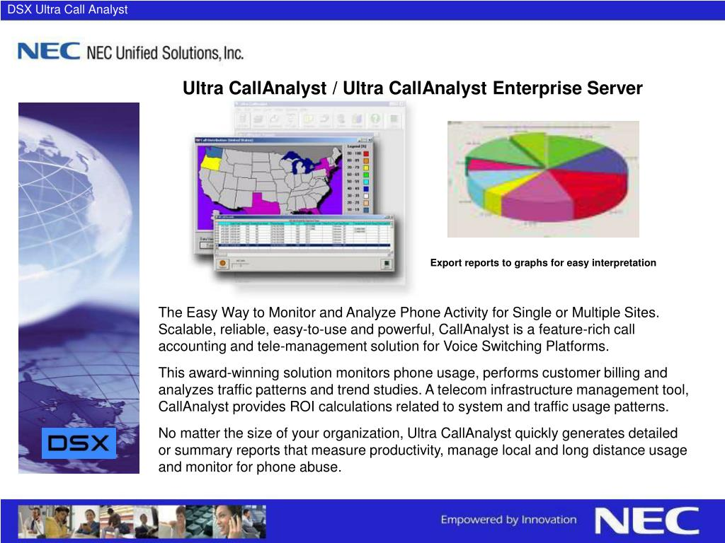 DSX Ultra Call Analyst