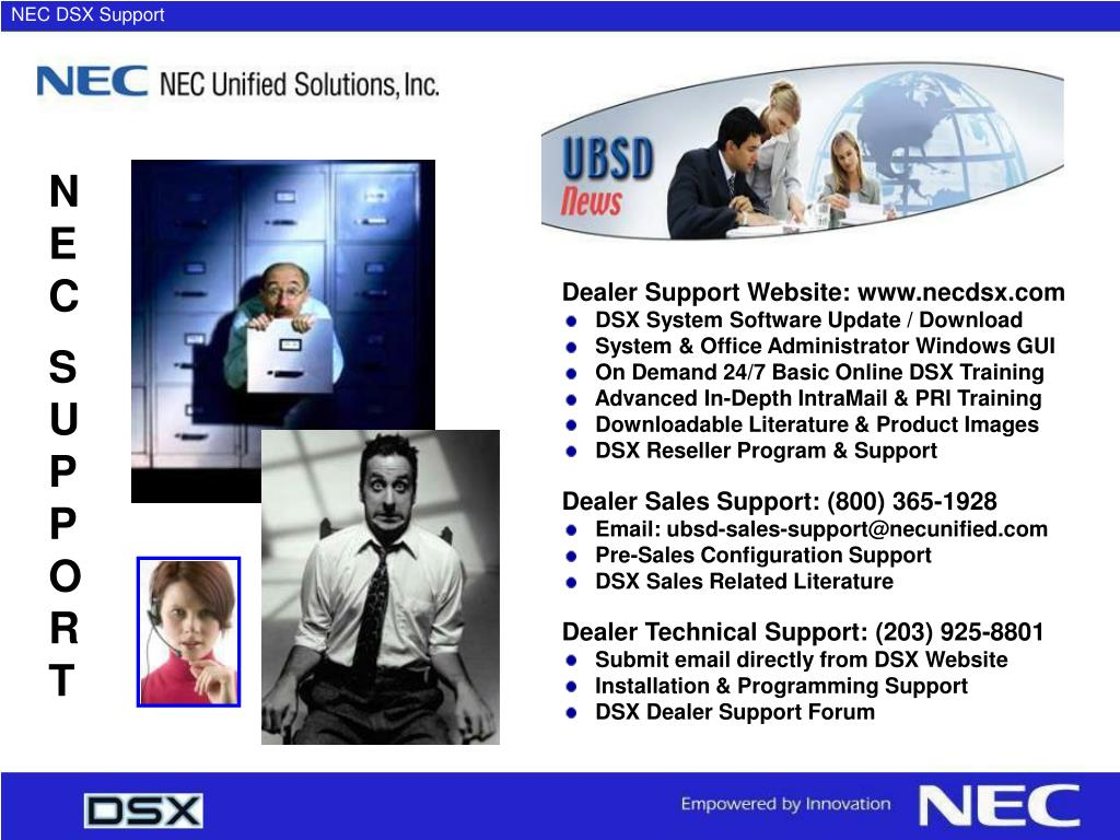 NEC DSX Support