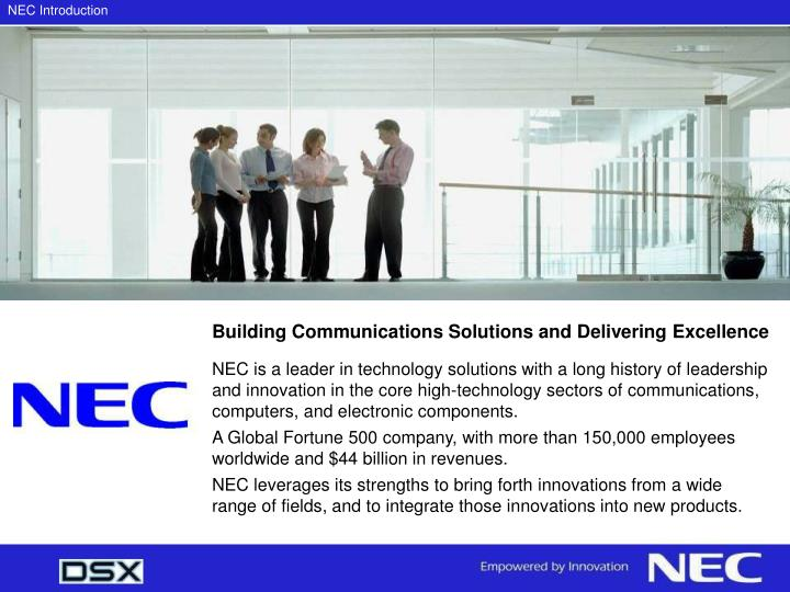 Nec introduction